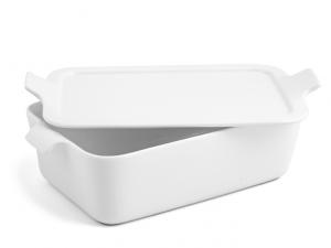 Pirofila da forno in porcellana 14x21 bianca