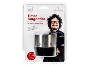 Timer cucina in acciaio linea Alessandro Borghese