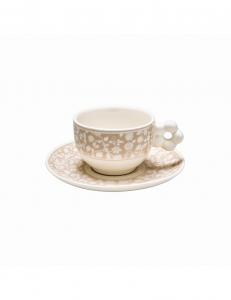 2 tazze caffè campo di fiori, confezione regalo