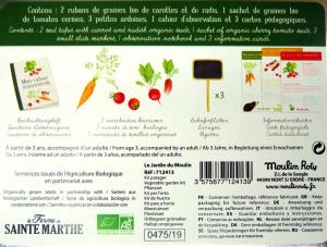 Kit per la coltivazione dell'orto