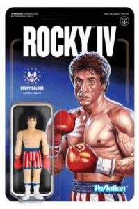 5 ReAction Figure: Rocky IV Serie Completa by Super 7