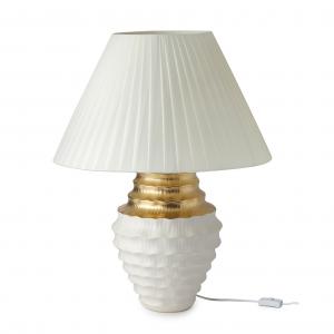 Hervit - LAMPADA GRES BIANCO/ORO