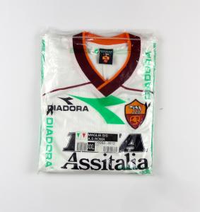 1999-00 Roma Maglia Away XXL *Nuova