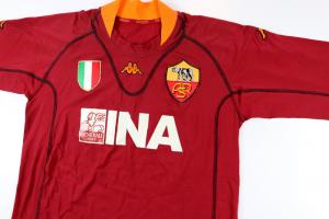 2001-02 Roma Maglia Home XXL *Nuova