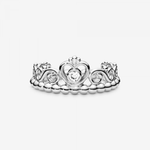 Anello corona tiara principessa