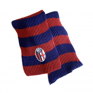 Bologna Fc RED-BLUE VINTAGE SCARF