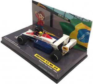 Toleman Hart TG184 Ayrton Senna 1984 1/43