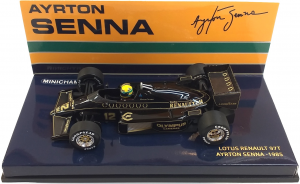 Lotus Renault 97T Ayrton Senna 1985 1/43