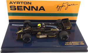 Lotus Renault 98T Ayrton Senna 1986 1/43