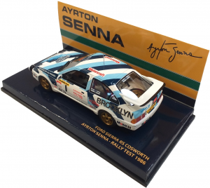 Ford Sierra KS Cosworth Ayrton Senna Rally Test 1986 1/43