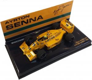 Lotus Honda 99T Ayrton Senna 1987 1/43