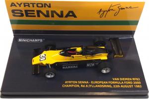 Van Diemen RF82 Ayrton Senna European Formula Ford 2000 Champion Rd. 8 Jyllandsring 22th August 1982 1/43