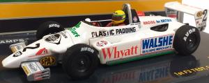 Ralt Toyota RT3 Ayrton Senna 1st F3 Test Silverstone September 1982 1/43