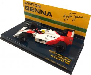 McLaren Honda MP4/4 Ayrton Senna Brazilian GP 1988 1/43