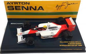 McLaren Honda MP4/4 Ayrton Senna Winner British GP 1988 1/43