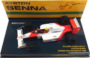 McLaren Honda MP4/4 Ayrton Senna Winner San Marino GP 1988 1/43