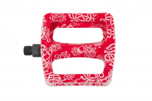 Odyssey Twisted Pro Pedali | Colore Monogram Pattern Red