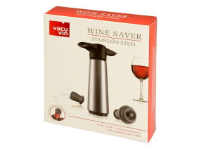Confezione regalo con pompa vino e tappi versatori