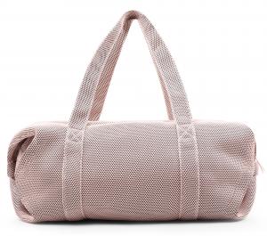 Borsone sport Repetto in mesh rosa  Taglia L