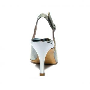Chanel argento lurex Melluso