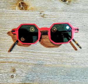 Occhiale da sole plastic de lux mod. Otto