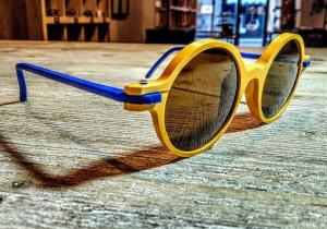 Occhiale da sole plastic de lux mod. Around