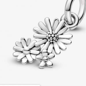 Charm pendente Bouquet di margherite