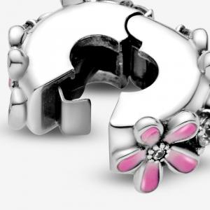 Clip Margherita rosa