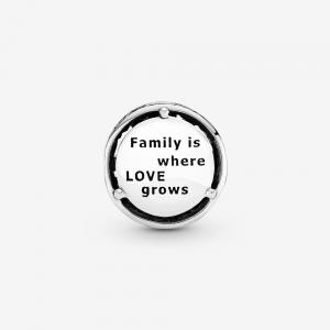 Charm Famiglia openwork