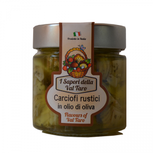 Carciofi Rustici in Olio d'oliva da 200gr