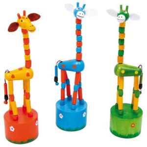 Animaletti giraffe schiaccia-sotto