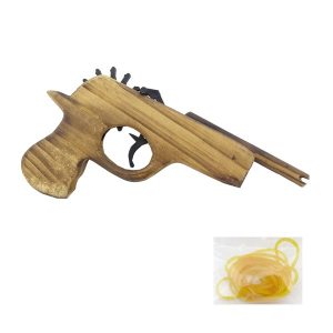 Pistola in legno classica piccola