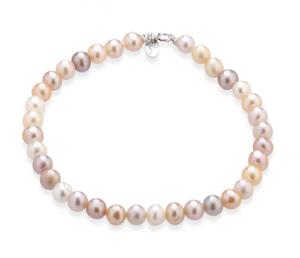 TRAMONTANO - Bracciale Perle vere Multicolor