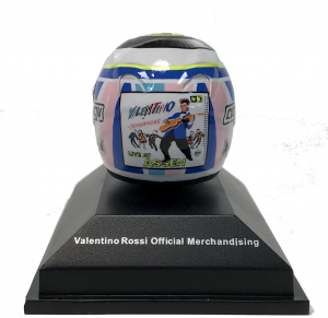 Valentino Rossi Assen 2007 Moto GP Helmet 1/8