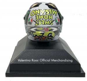 Valentino Rossi  Moto GP 2016 Misano Helmet 1/8