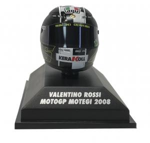 Valentino Rossi  Moto GP 2008 Motegi Helmet 1/8