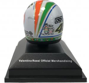 Valentino Rossi  Moto GP Mugello 2002 Helmet 1/8