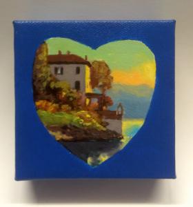 Lake Como heart