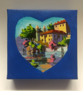 Villa Balbianello Heart