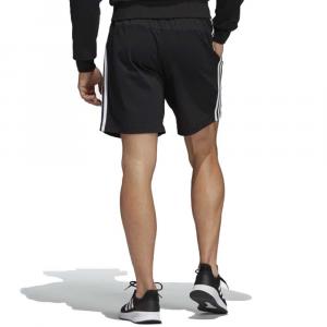 Adidas Bermuda Garzato Three Striped Black da Uomo