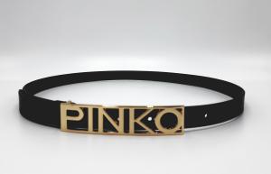 Cinta fibbia scritta Pinko.