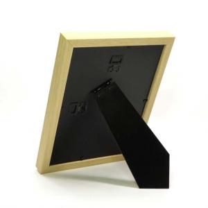 Porta foto cornice in legno 15x20 bordo bianco
