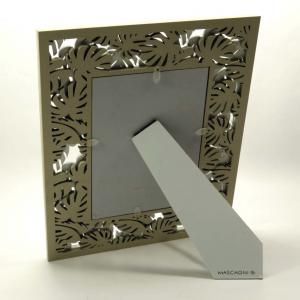 Cornice porta foto in legno foglie 13x18