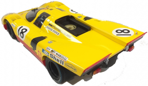 Porsche 917K #18 Aaw Racing Team With David Piper Van Lennep 24H Le Mans 1970 1/12