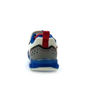 Sneaker bianca/royal Geox