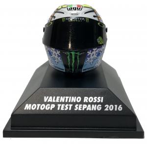 Valentino Rossi Moto Gp Test Sepang 2016 Helmet 1/8