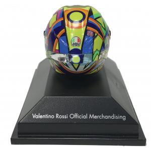 Valentino Rossi Tribute To A. Nieto/ N.Hayden Moto Gp 2017 Helmet 1/8