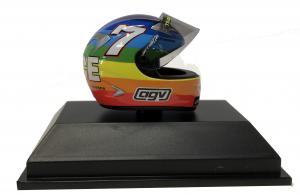 Valentino Rossi Moto Gp Winter Test 2003 Helmet 1/8