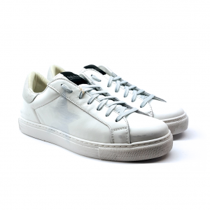 Sneaker bianca effetto used NiRa Rubens