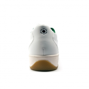 Sneaker bianca/verde vintage Playground